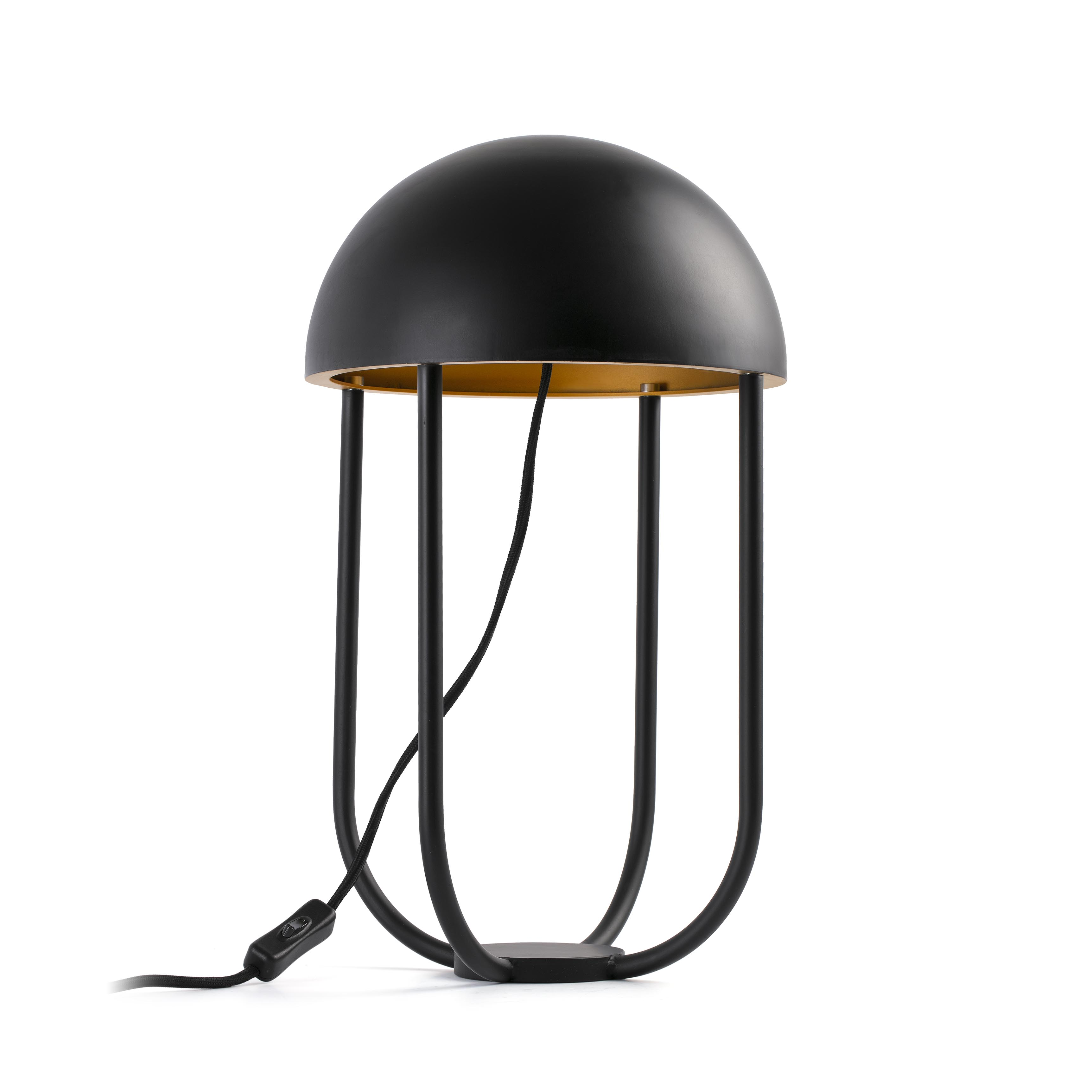 JELLYFISH BLACK / GOLD DESKTOP 6W 3000K